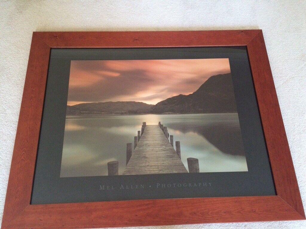 Framed print of Ullswater, Cumbria by Mel Allen 95cm x 75cm   in ...