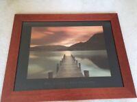 Framed print of Ullswater, Cumbria by Mel Allen 95cm x 75cm