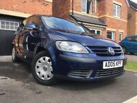 Volkswagen, GOLF PLUS, Hatchback, 2005, Manual, 1.6 , 5 doors