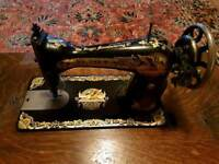 Singer sewing machine and table top