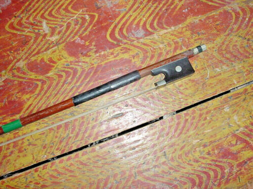 """VINTAGE VIOLIN BOW MARKED GERMANY 24 3/4"""" 50G mid century"""