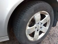 !! CLEARANCE !! Mercedes E Class 16'' genuine ALLOY WHEELS WITH TYRES 225/55/16