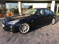 2006 56 Bmw 540i M Sport Auto Low Mileage Only 85K 1 Previous Owner From New V8 E60 Carbon Black