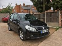 Suzuki SX4 1.6 GLX 5dr. FULL SERVICE HISTORY, TWO KEYS, DRIVE VERY WELL, FIRST TO SEE WILL BUY IT