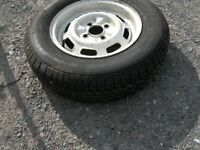 spare tyre 165 R13