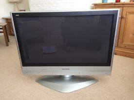 Panasonic Plasma Viera 37 inch TV TH-37PX60B with remote control & operating instructions