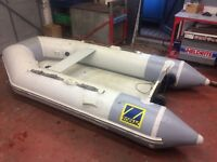 Zodiac 285 Inflatable Dinghy no Outboard Motor