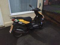 Motobi imola rs 50cc moped full mot 2014 £500 or swap