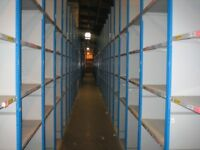 JOB LOT dexion impex industrial shelving 2.1m high ( storage , pallet racking )