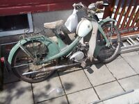 wanted 50cc classic motorcycle or moped or scooter/cyclmotor