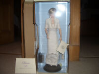Collectable Franklin Mint ' Princess Diana ' Porcelain Doll