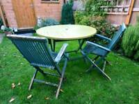 Free Garden Table and chairs