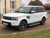 Land Rover Range Rover Sport 3.0 SDV6 HSE Facelift White Auto Diesel