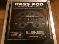 Line 6 Bass Pod - boxed/Gigbag + extras