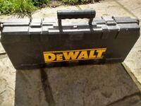 DeWalt 240v reciprocating saw with box. Spares or repair.