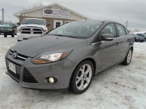 2014 Ford Focus Titanium Leather NAV Sunroof