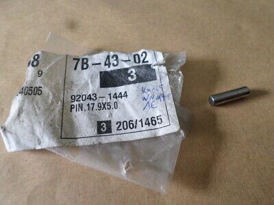 kawasaki KX125 VN1100  pin dowel 17.9x5.0