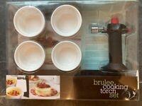 Creme Brulee Cooking Torch Set
