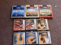 Guitar strings - Bass / Electric / Acoustic / Classical