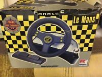 Le Mans gameware steering wheel