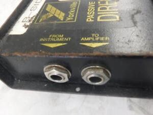 Yorkville YDI-1P Passive Direct Box. We Sell Used Instruments.101430