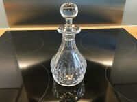Mini crystal glass decanter