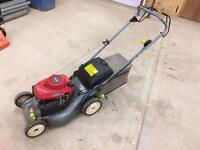 Honda easy start lawnmower
