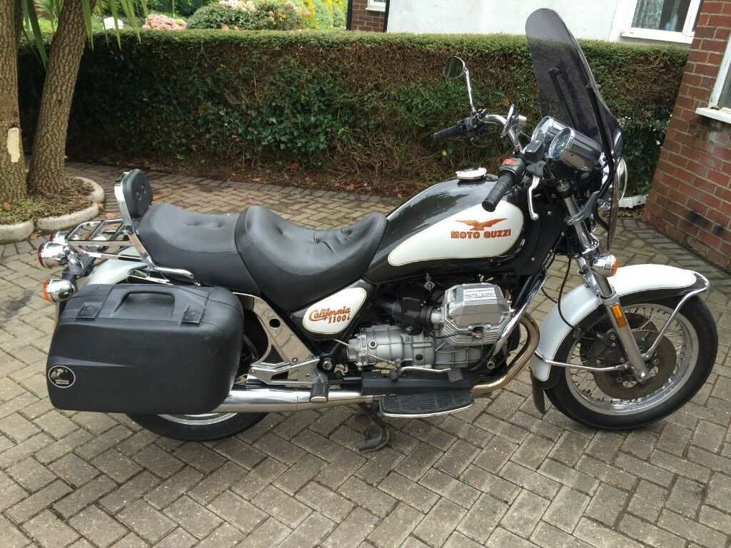 1996 (N) Moto Guzzi California 1100i with screen and panniers