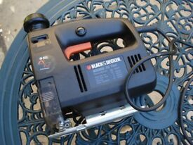 Power Tools, jig saw (Black and Decker) , Power Drill, Small Grinder.