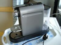 Krups Nespresso XN720T Cappuccino Coffee Maker. Good Working Order