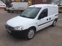 Vauxhall combo 2000 CDTI 1.7 car derived van NO VAT 2008 08reg
