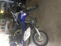 2009 125 TTR dirt bike for sale