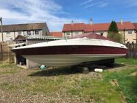 Maxum 2300 SC 5.7 V8 Mercruiser boat project