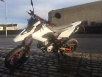 Yamaha wr125x supermoto