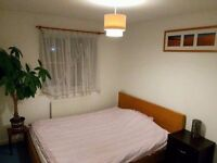 Double room available in a friendly, quiet house