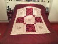 Pair of Single Bed Comforters and Pillow Shams