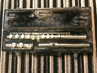 Yamaha Flute bought recently but not used prefer saxophphone flute was serviced bottom price £90