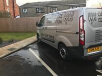 Ford transit custom window cleaning van and set up