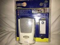 Friedland 200m Portable Sight & Sound Wireless Door Bell & Blue light Indicator