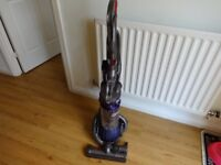 DYSON DC 25 ANIMAL PURPLE BALL 2 TOOLS(CREVICE-BRUSH/STAIRS TOOL) EXCELLENT CONDITION AND SUCTION