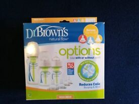 Dr Browns Natural Flow bottles