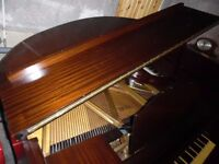 baby grand piano by steck 4ft long --summer sale--
