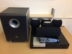 JBL CS3 DVD 5.1 HDMI Home Cinema System, 2 USB Ports, Digital Radio, AUX Inputs etc, Full Working.