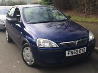 Vauxhall Corsa 1.2 2006 + FULL SERVICE HISTORY + 12 MONTHS MOT + LOW MILES