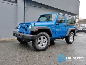 2016 Jeep Wrangler Sport! Mint Condition! Easy Approvals!