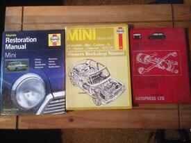 Classic mini Haynes / Autopress repair manuals