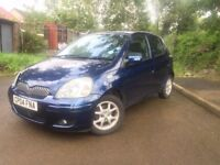 Toyota YARIS 1.3 Petrol 36000 miles with FULL service history