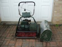 Atco 24in Ride On Lawn Mower With Box For Spares Or Repairs Good Project