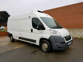 2008/58 CITROEN RELAY 35 HDI 120 BHP 6 SPEED LWB TEMPERATURE CONTROLLED CHILLER FRIDGE FREEZER VAN