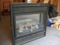 propane insert fireplace